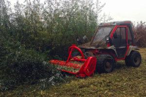Débroussaillage au tracteur Reform