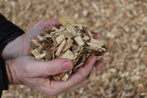 plaquettes de bois calibre moyen