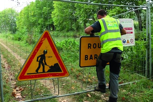 sécurisation de chantier