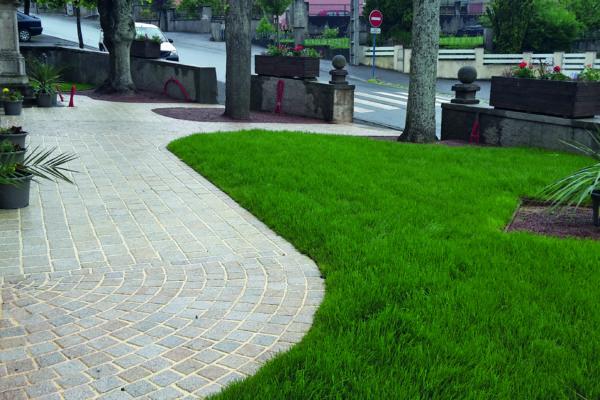 espaces verts après intervention de l'entreprise paysage Welsch